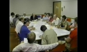 Chapter Meeting at the Bala Cynwyd Library, 1987